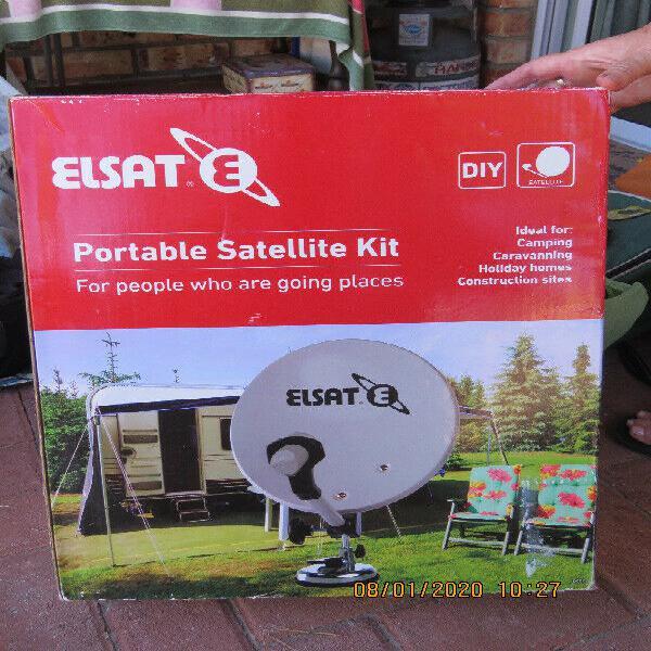 Portable dstv satellite kit