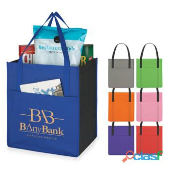 Expose brand with personalized non woven tote bags