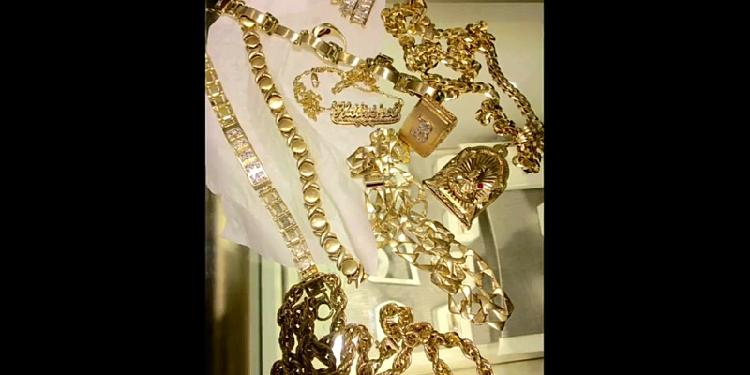 Gold unwanted jewelry
