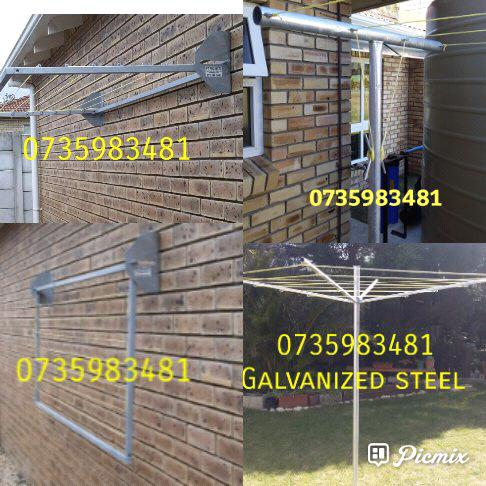 All galvanized washing lines