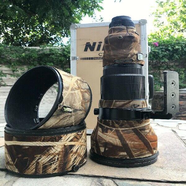 Nikon lens 600mm F4D AFS II