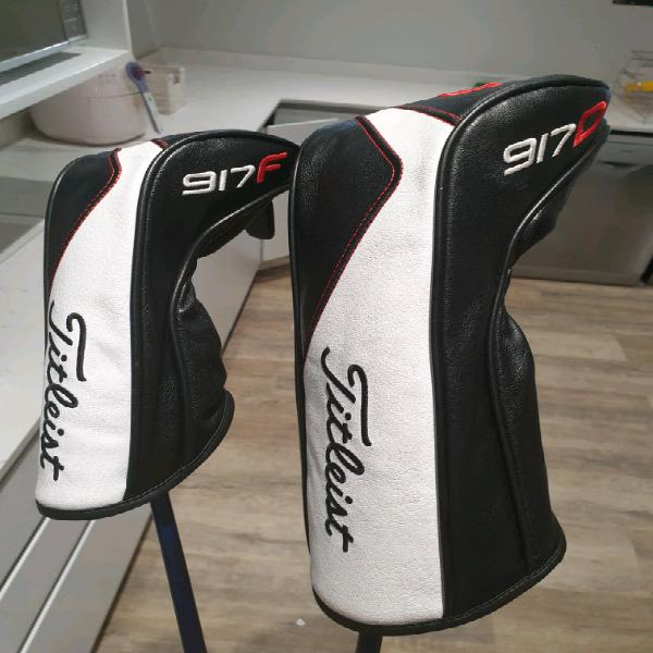 Titleist 917 driver and fairway driver combo