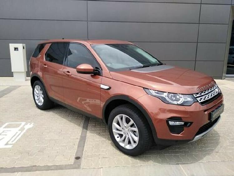 2018 Land Rover Discovery Sport My18 2.0 I4 Diesel Hse At
