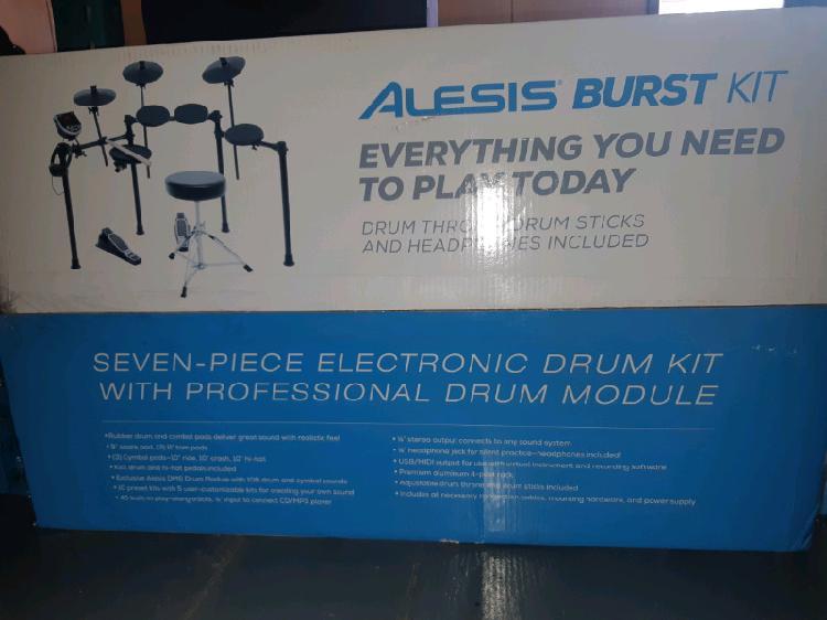 Alesis burst drumkit