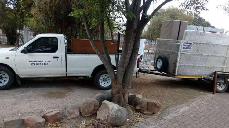 Bakkie Hire - Furniture Removal - Transport Hire