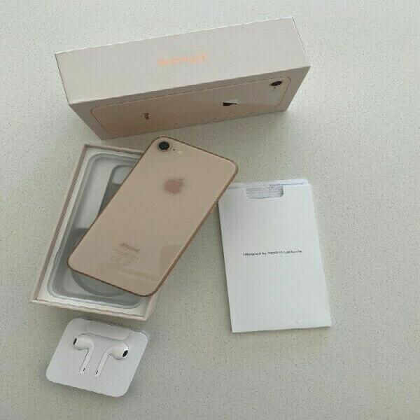 Basically new iphone 8 with box for sale