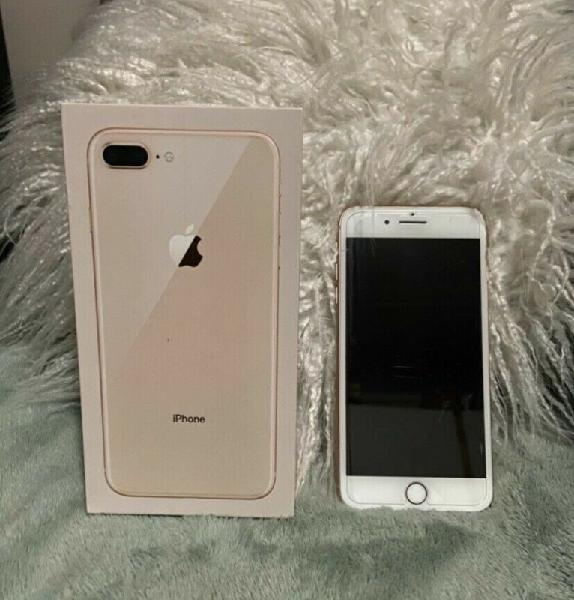 Iphone 8 plus gold 256gb forsale
