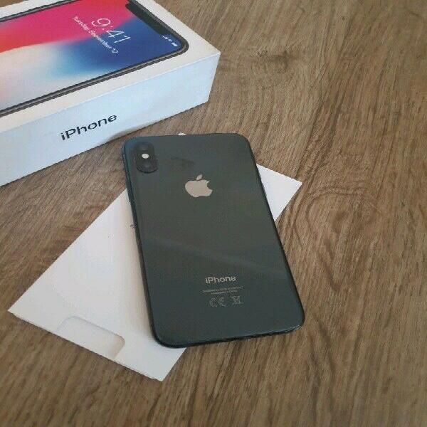 Iphone x 64gb with box forsale