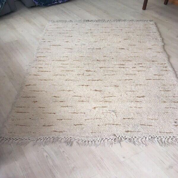 Mohair rug 183 x 123 cm