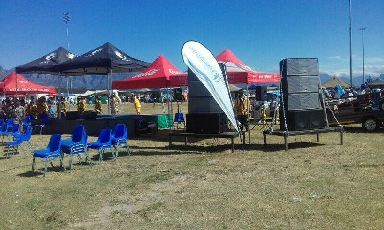 SOUND HIRE: OUTDOOR EVENTS