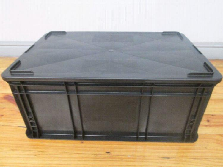 Stackable Plastic Bins With Lid R115