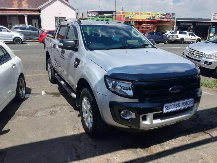2015 ford ranger 3.2 4by4 wildtrack double cab