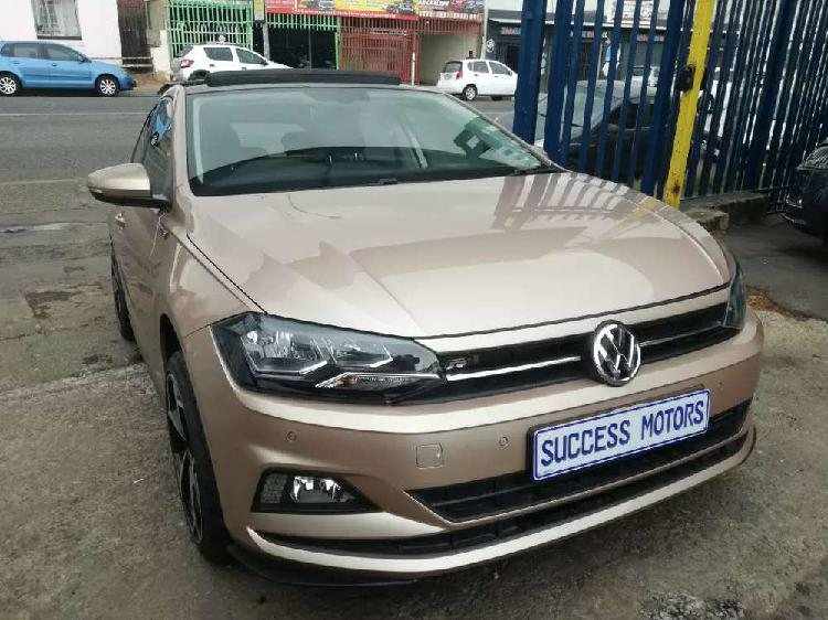 2018 volkswagen polo 8 1.0 tsi r-line automatic with a
