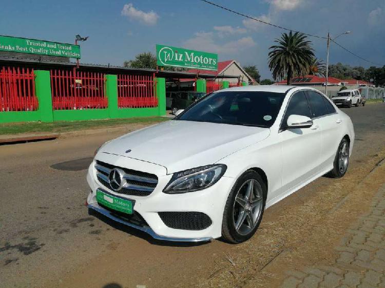 Mercedes-benz c-class c180 exclusive auto