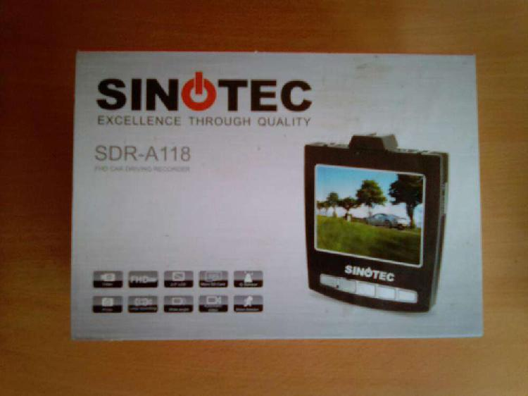 Sinotec dashboard digital recorder sdr-a118. brand new in a