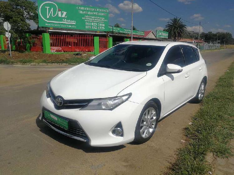 Toyota auris 1.6 xr cvt