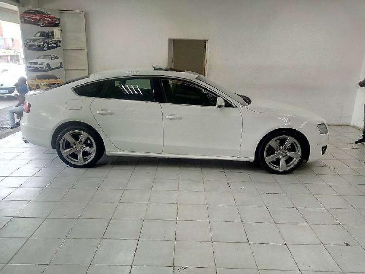 White audi a5 2.0t sedan auto s/roof