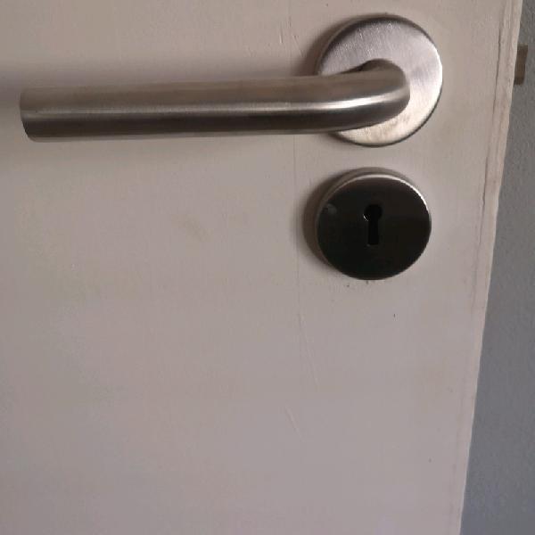 New stainlessteel door handles