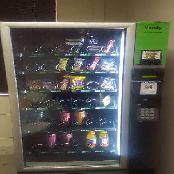 Vending machine with site for sale in centurion. min gross