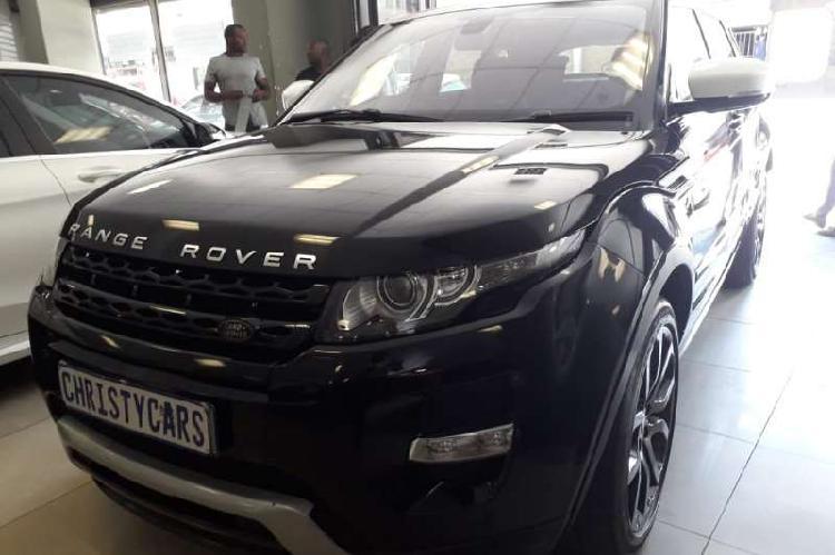 Land rover range rover evoque autobiography sd4 2013