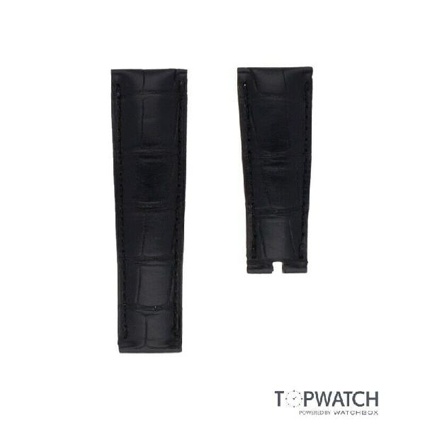 Topwatch- black leather strap (st-114)