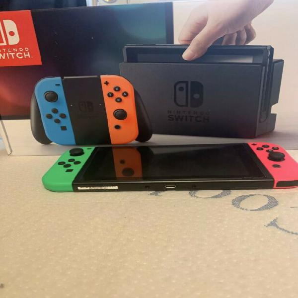Nintendo switch bundle with 15 games !