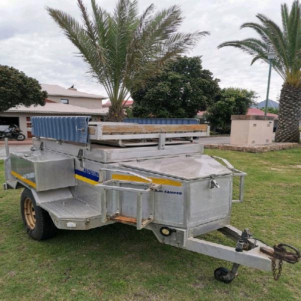 Aluminium 4x4 trailer aluglide