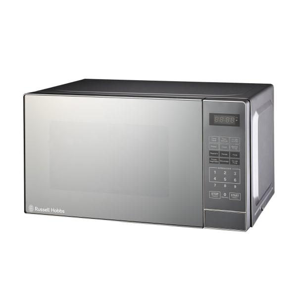 Russell hobbs digital mirror microwave, 20 litre
