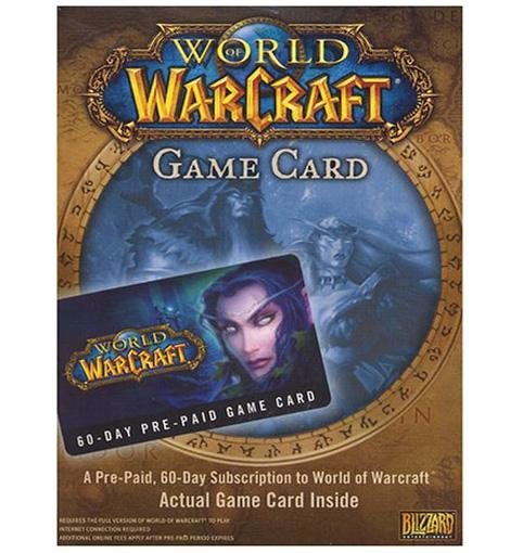 World of warcraft 60-day time card (battle.net) - pc mmorpg