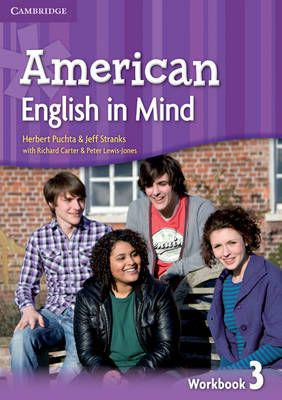American english in mind level 3 workbook (paperback)