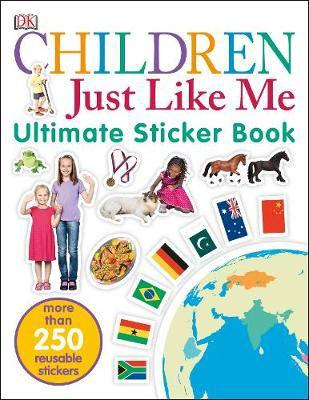 Children just like me ultimate sticker book (paperback)