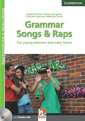 Grammar songs and raps teachers book with audio cds (2) -