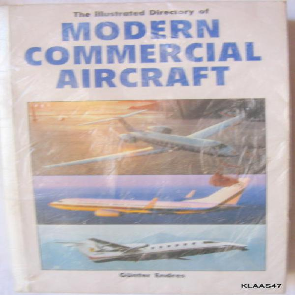 Illustrated directory of modern commercial aircraft by