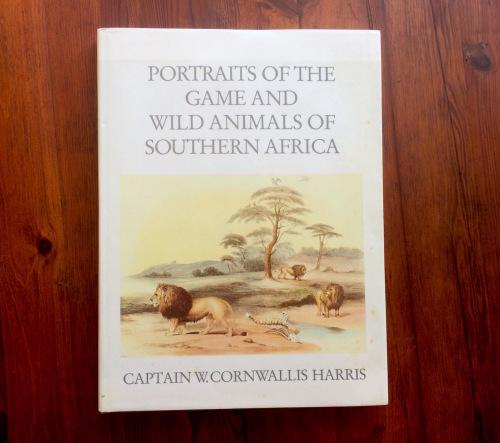 Portraits of the game and wild animals of southern africa by