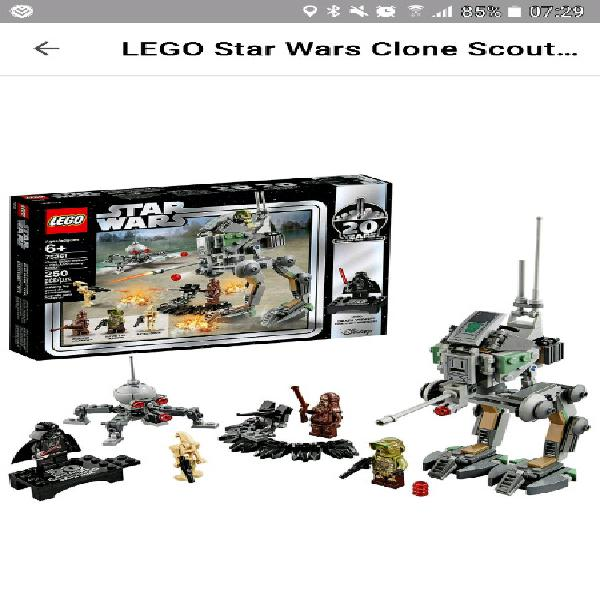 Star wars clone scout walker limited edition