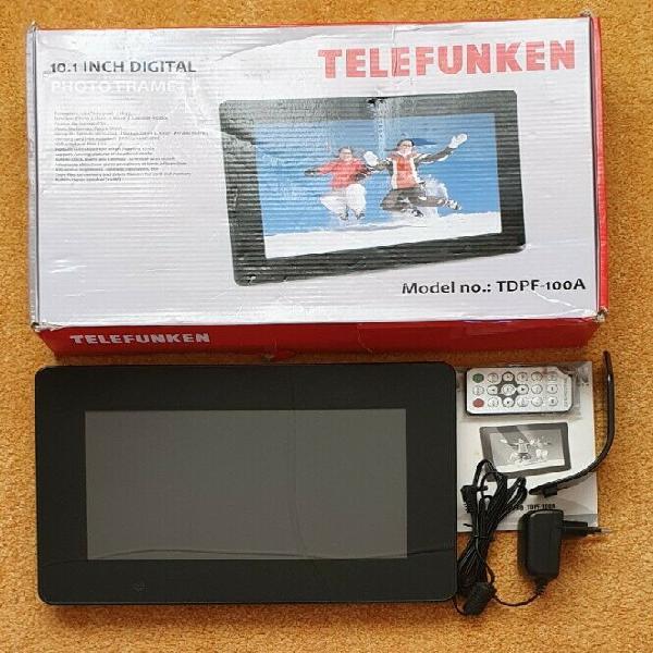 Telefunken 10.1 digital photo frame