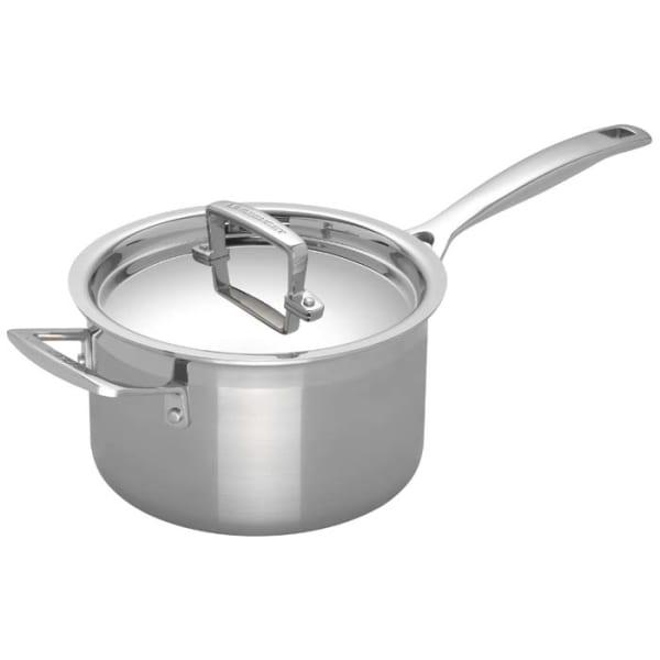Le creuset 3 ply stainless steel saucepan