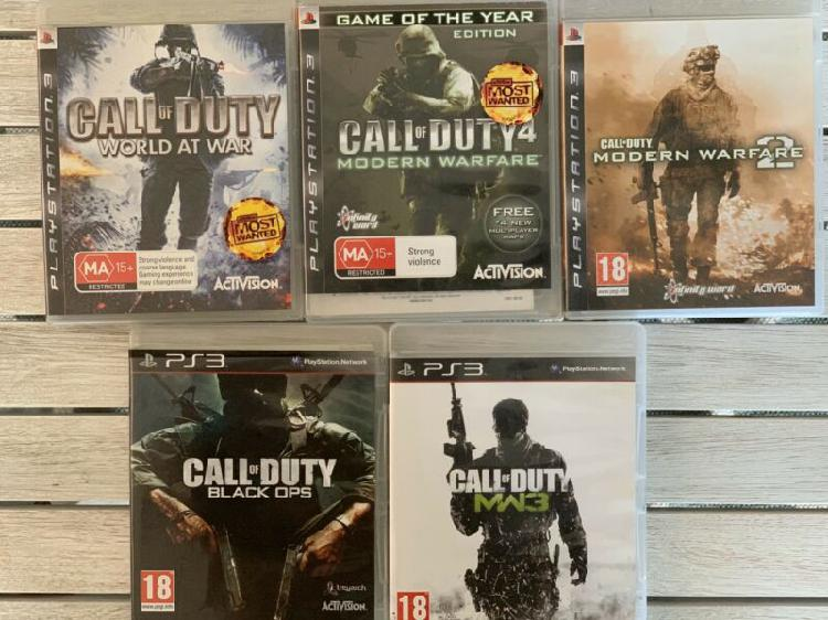 Ps3 call of duty games bundle