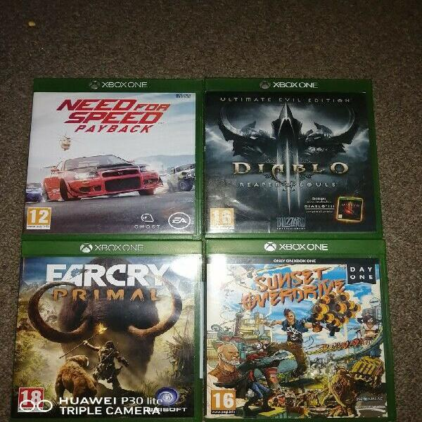 Xbox one games for sale in excellent condition