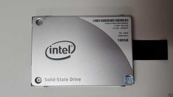 Bargain] intel ssd 180gb solid state hard drive
