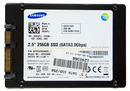 Bargain] samsung ssd, 2.5inch 256gb, sata 3gb/s solid state