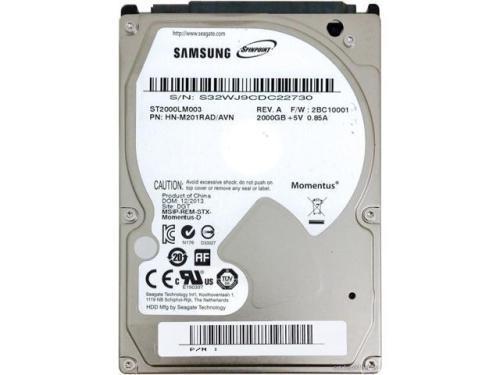 Bargain] seagate / samsung 2.5 laptop 2tb *2000gb* sata
