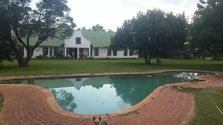 Bushveld farm with r50k passive monthly income and no land