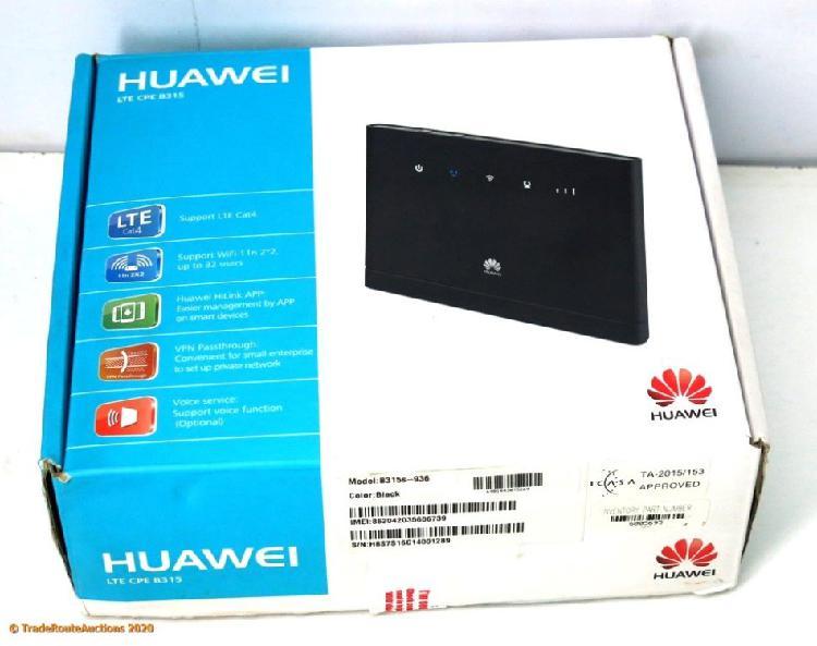 Huawei b315s 4g lte wifi modem wireless router (uses sim