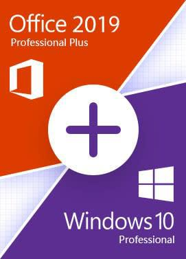 Microsoft office 2019 + windows 10 professional | office