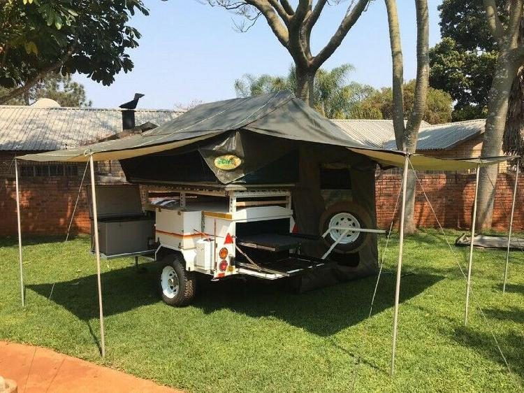 Venter off road trailer and rooftop tent