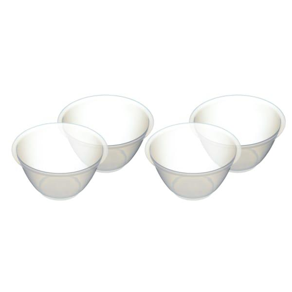 Kitchencraft plastic mixing bowls, set of 4