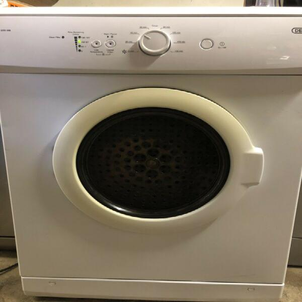 Tumble dryer - defy 5kg in white - like new - excellent -