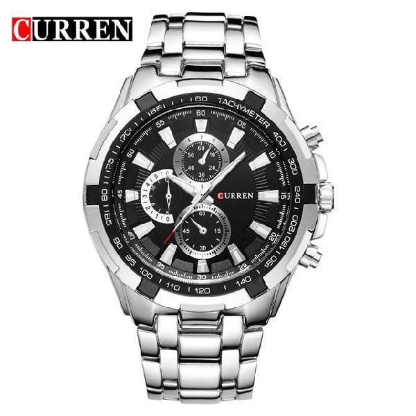 New sale curren watches men quartz top brand analog military