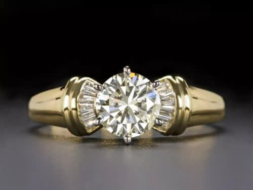 Vintage & antique collection | 18k white & yellow gold